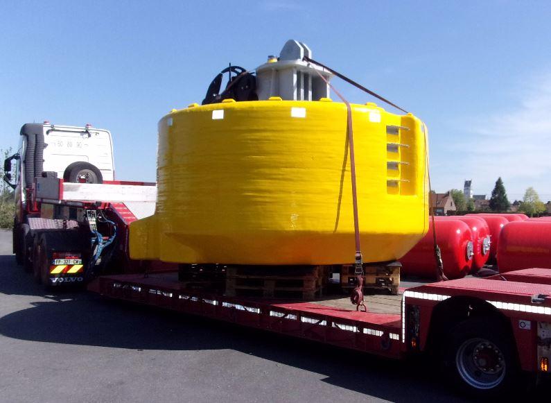 Coffre d'Amarrage 20 T CMU 300 T - Port de Dublin 01