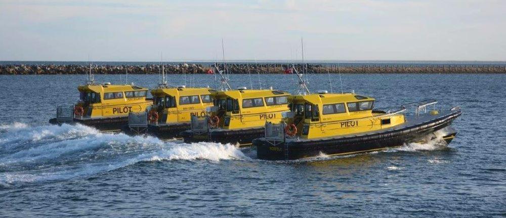 Défenses de Vedettes Ocean 3 - Pilotine Aleertr, Reliance, The Providence et Norfolk Australie