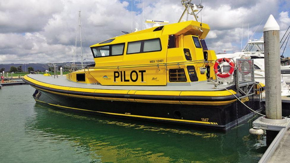 Défenses de Vedettes Ocean 3 - Pilotine KESTREL Australie