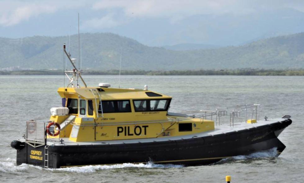 Défenses de Vedettes Ocean 3 - Pilot Boat OSPREY