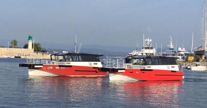 Workboat Fender Systems - Wind of Hope & Speed of Hope LDA