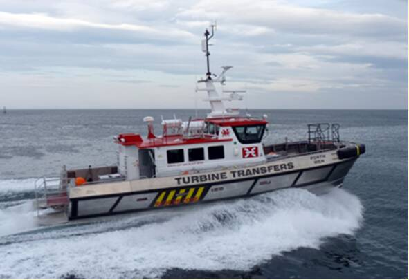 Equipements de Vedettes - Turbine Transfers Fleet - Porth Wen