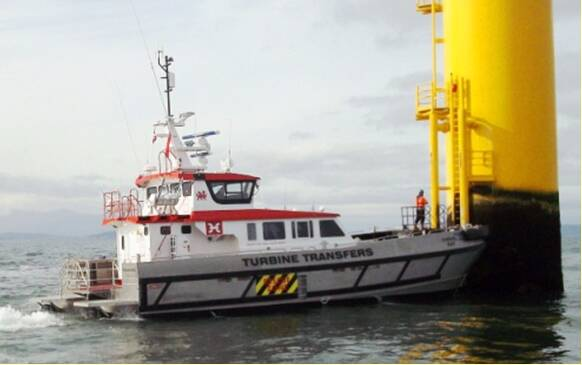Equipements de Vedettes - Turbine Transfers Fleet - Kinmel Bay