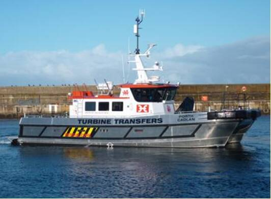 Equipements de Vedettes - Turbine Transfers Fleet - Porth Cadlan