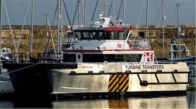 Equipements de Vedettes - Turbine Transfers Fleet - Forid bay