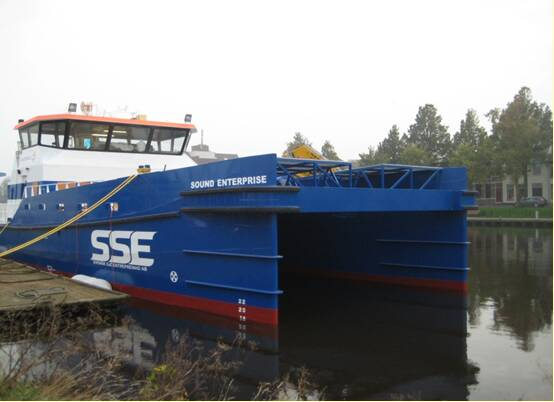 Equipements de Vedettes - SSE Fleet - Damen Shipyards