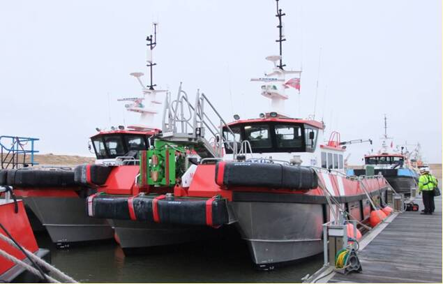 Equipements de Vedettes - MPI Fleet with Ocean 3 Bow Fenders