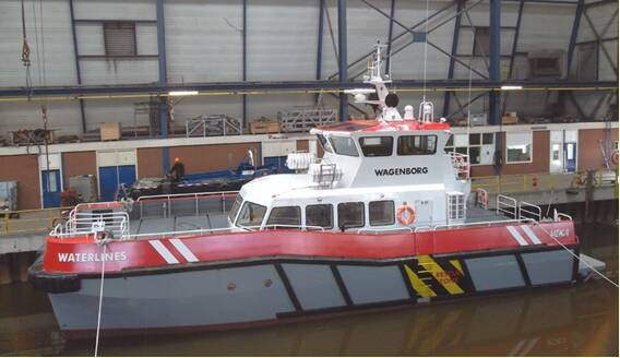 "Equipements de Vedettes - Wind Farm Catamaran ""Waterlines"""