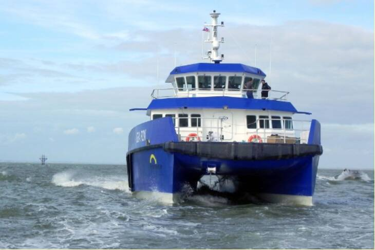 Equipements de Vedettes - Wind Farm Support Vessel Sea Fox - Enviroserve