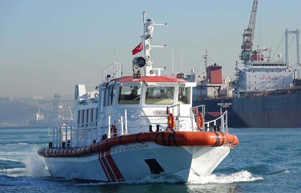 Equipements de Vedettes Ocean 3 - Sauvetage Turc Dr Ali Ihsan Aldogan 02