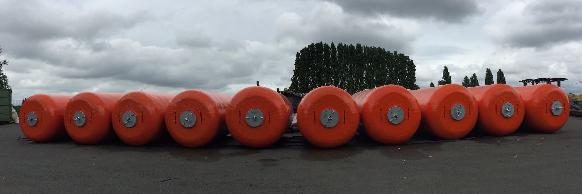 Foam Filled Fenders DCT Ø 1,5 x 4,0 m - Congo 01