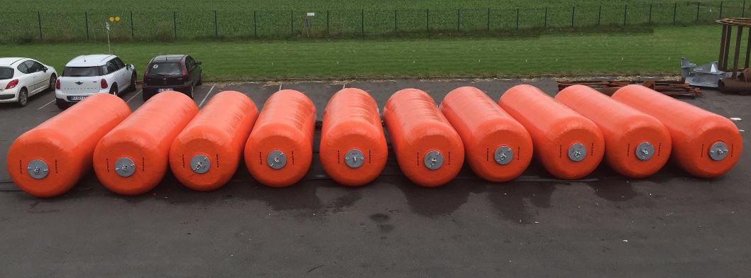 Foam Filled Fenders DCT Ø 1, 5 x 4,0 m - Congo 02