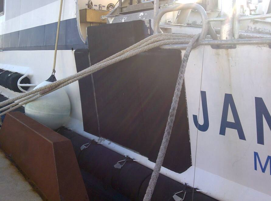 ROV protection for Janus Survey Boat